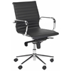 Loreley Desk Chair, Black
