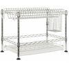Safavieh Darina Adjustable Chrome Wire Dish Rack, Chrome