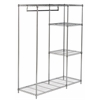 Betsy Chrome Wire Adjustable Garment Rack, Chrome