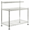 Safavieh Marcel Chrome Wire Mini Rack, Chrome