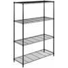 Safavieh DELTA 4 TIER CHROME WIRE SHELVE