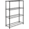 Safavieh BRAVO 4 TIER CHROME WIRE SHELVE