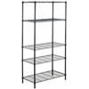 Safavieh ALPHA 5 TIER CHROME WIRE SHELVING