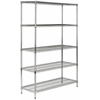 ECHO 5 TIER HEAVY DUTY CHROME WIRE SHELVE
