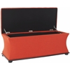 Safavieh Aroura Storage Bench, Orange