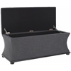 Safavieh Aroura Storage Bench, Grey