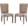 Ken Leather Side Chair (Set Of 2), Clay