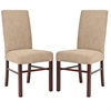 Safavieh Classic Side Chair (Set Of 2), Olive Beige