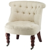 Safavieh Baby Tufted Chair, Natural Cream