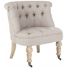 Baby Tufted Chair, Taupe