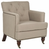 Safavieh Colin Tufted Club Chair, True Taupe