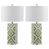 Diamonds Table Lamp, Green