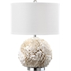 Pauley Table Lamp, White Base
