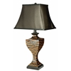 Safavieh Sahara Safari Lamp (Single), Brown/Black