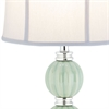 Stephanie Green Globe Lamp (Single), Green