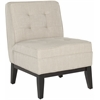 Safavieh Angel Armless Club Chair, Linen