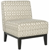 Safavieh Armond Chair, Grey/ Cream