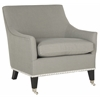 Safavieh Barlow Arm Chair, Granite