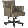 Safavieh Chambers Office Chair, Clay / Black