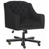 Salazar Office Chair, Black / Taupe