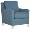 Safavieh Hollywood Glam Acrylic Blue Club Chair, Blue / Clear