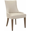 Becca Fabric Dining Chair, Antique Gold
