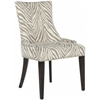 Becca Dining Chair, Grey Zebra