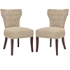 Safavieh Broome Tufted Side Chair W/ Nickel Nail Heads (Set Of 2), Sage