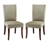 Safavieh Brewster Side Chair  W/ Nickel Nail Head (Set Of 2), Sage