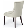 Amanda Tufted Chair W/ Nickel Nail Heads, Taupe