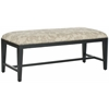 Safavieh Zambia Bench, Taupe And Beige Print
