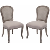 Safavieh Lucy Side Chair (Set Of 2), Taupe