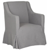 Safavieh Sandra Slipcover Chair, Arctic Grey