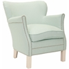 Safavieh Jenny Arm Chair, Robins Egg Blue