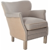 Safavieh Jenny Arm Chair, Taupe/ Beige