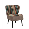 Morgan Accent Chair, Multi Striped