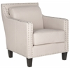 Safavieh Charles George Arm Chair, Taupe