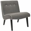 Safavieh Mandell Chair, Charcoal Brown