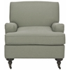 Chloe Club Chair, Sea Mist Blue