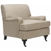 Chloe Club Chair, Antique Gold