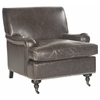 Chloe Club Chair, Antique Brown