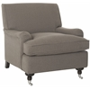 Chloe Club Chair, Grey