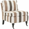 Safavieh Randy Slipper Chair, Multi Stripe