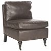 Safavieh Randy Slipper Chair, Antique Brown