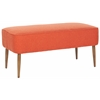 Safavieh Levi Bench, Burnt Orange