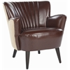 Safavieh Cooper Arm Chair, Brown/ Beige
