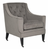 Sherman Tufted Arm Chair, Mushroom Taupe