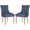 Lester Dining Chair, Steel Blue