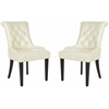 Bowie Tufted Side Chair (Set Of 2), Cream