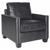 Safavieh Horace Club Chair, Antique Black